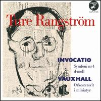 Ture Rangstr�m: Invocatio; Vauxhall - Bengt Christiansson (flute); Erik Lundkvist (organ); Lars Almgren (clarinet); Lars Olof Loman (oboe); Rozalina Skytt (harp);...