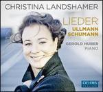 Ullmann, Schumann: Lieder