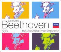 Ultimate Beethoven  - Claudio Arrau (piano); Hans Sotin (bass); Henryk Szeryng (violin); Jessye Norman (soprano); Reinhild Runkel (contralto);...