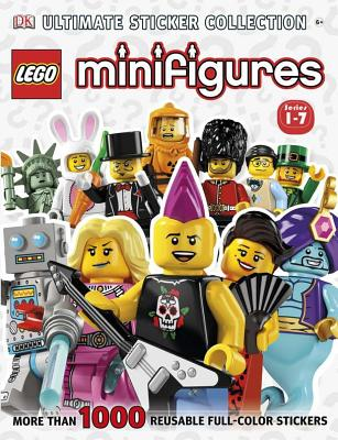 Ultimate Sticker Collection: Lego(r) Minifigures (Series 1-7): More Than 1,000 Reusable Full-Color Stickers - Last, Shari
