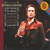 Umberto Giordano: Andrea Chenier - Eva Farkas (mezzo-soprano); Eva Marton (soprano); Ferenc Sapszon (cornemeuse); Franco Federici (bass);...