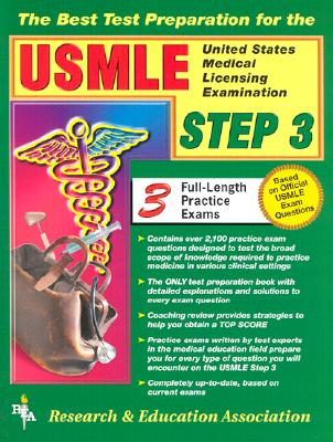 USMLE Step 3 (Rea) - The Best Test Prep for the USMLE Step 3 - Fife, Rose S, Dr., and Rana-Mukkavilli, Gopi, Dr., and Worner, T M, Dr.