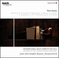 Varietas - Jean-Christophe Dijoux (harpsichord)