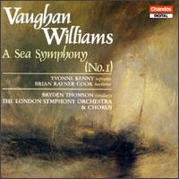 Vaughan Williams: A Sea Symphony - Brian Rayner Cook (baritone); Yvonne Kenny (soprano)