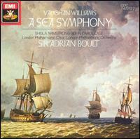 Vaughan Williams: A Sea Symphony - John Carol Case (baritone); Sheila Armstrong (soprano); London Philharmonic Choir (choir, chorus);...