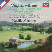 Vaughan Williams: Fantasies; The Lark Ascending; Five Variants - Academy of St. Martin in the Fields; Iona Brown (violin); Kenneth Heath (cello); Skaila Kanga (harp);...