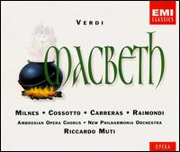 Verdi: Macbeth - Carlo del Bosco (vocals); Christopher Keyte (vocals); Fiorenza Cossotto (vocals); Giuliano Bernardi (vocals);...