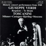 Verdi: Messa da Requiem; Te Deum