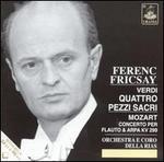 Verdi: Quattro Pezzi Sacri; Mozart: Concerto per Flauto e Arpa, KV299