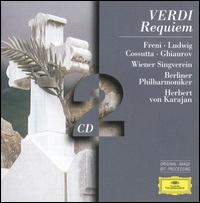 Verdi: Requiem - Agnes Baltsa (contralto); Anna Tomowa-Sintow (soprano); Carlo Cossutta (tenor); Christa Ludwig (mezzo-soprano); José van Dam (bass); Mirella Freni (soprano); Nicolai Ghiaurov (bass); Peter Schreier (tenor); Rudolf Scholz (organ)