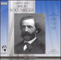 Verdi: Simon Boccanegra (1857 Version) - Andre Turp (vocals); Giorgio Lamberti (vocals); Gwynne Howell (vocals); Patricia Taylor (vocals); Paul Hudson (vocals);...
