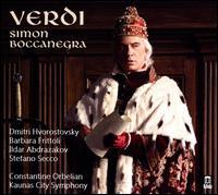 Verdi: Simon Boccanegra - Barbara Frittoli (soprano); Dmitri Hvorostovsky (baritone); Egle Sidlauskaite (mezzo-soprano); Ildar Abdrazakov (bass);...
