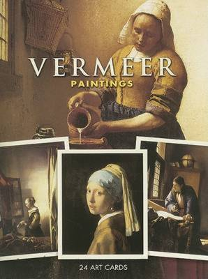 Vermeer Paintings: 24 Art Cards - Vermeer, Johannes