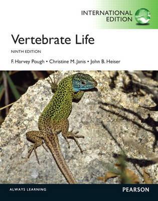 Vertebrate Life: International Edition - Pough, F. Harvey, and Janis, Christine M., and Heiser, John B.