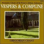 Vespers And Compline