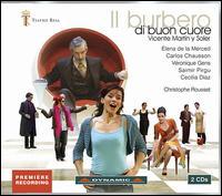 Vicente Mart�n y Soler: Il Burbero di Buon Cuore - Atsushi Sakai (cello); Carlos Chausson (vocals); Cecilia Diaz (vocals); Christophe Rousset (fortepiano);...