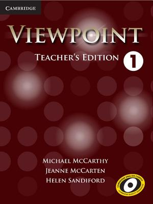 Viewpoint Level 1 Teacher's Edition with Assessment Audio CD/CD-ROM - McCarthy, Michael J., and McCarten, Jeanne, and Sandiford, Helen