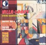 Villa-Lobos: String Quartets, Vol. 1