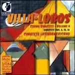 Villa-Lobos: String Quartets, Vol. 4