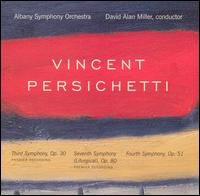 "Vincent Persichetti: Symphonies Nos. 3, 7 (""Liturgical""), 4 - Albany Symphony Orchestra; David Alan Miller (conductor)"