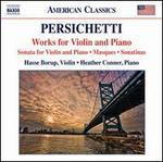 Vincent Persichetti: Works for Violin and Piano