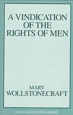 Vindication of Rights of Men - Wollstonecraft, Mary