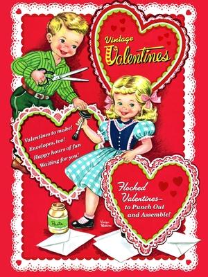 Vintage Valentines - Golden Books