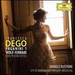 Violin Concertos: Paganini 1, Wolf-Ferrari