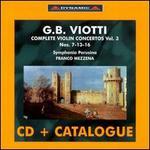 Viotti: Complete Violin Concertos, Vol. 3
