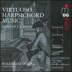 Virtuoso Harpsichord Music by the Sons of J.S. Bach
