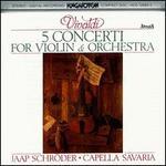 Vivaldi: 5 Concerti for Violin and Orchestra