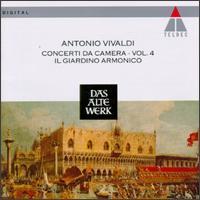 Vivaldi: Concerti da Camera, Vol. 4 - Alberto Grazzi (bassoon); Enrico Onofri (violin); Francesco Cera (organ); Francesco Cera (harpsichord);...