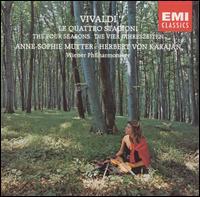 Vivaldi: Le Quattro Stagioni - Anne-Sophie Mutter (violin); Wiener Philharmoniker; Herbert von Karajan (conductor)