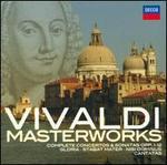 Vivaldi: Masterworks - Ageet Zweistra (cello); Alastair Ross (organ); Alison Bury (violin); Andreas Scholl (counter tenor); Andrew Manze (violin); Andrew Watts (bassoon); Anner Bylsma (cello); Anthony Halstead (horn); Anthony Pleeth (cello); Antony Pay (clarinet)
