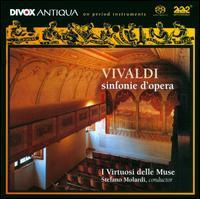 Vivaldi: Sinfonie d'Opera - Stefano Molardi (harpsichord); I Virtuosi Delle Muse; Stefano Molardi (conductor)