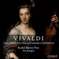 Vivaldi: The Complete Viola d'Amore Concertos - Allison Nyquist (violin); Ars Antigua; Dave Moss (viola); David Douglass (violin); Elizabeth Hagen (viola);...