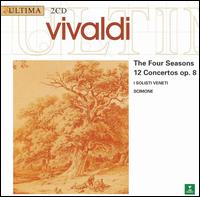 Vivaldi: The Four Seasons - 12 Concertos Op. 8 - I Solisti Veneti; Piero Toso (violin); Pierre Pierlot (oboe)