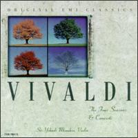 Vivaldi: The Four Seasons & Concerti - Alberto Lysy (violin); Eduardo Vassallo (cello); Hu Kun (violin); Jeffrey Gilliam (continuo); Mi-Kyung Lee (violin);...