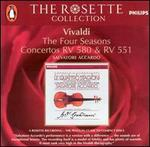 Vivaldi: The Four Seasons; Concertos RV 580 & RV 551