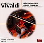 """Vivaldi: The Four Seasons; Violin Concertos from """"L'Estro Amonico"""" - I Musici; Roberto Michelucci (violin)"""