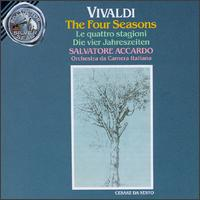 Vivaldi: The Four Seasons - I Nuovi Virtuosi, Rome; Patrice Fontanarosa (violin); Salvatore Accardo (violin)