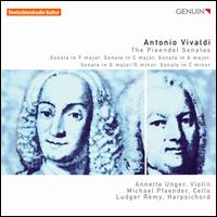 Vivaldi: The Pisendel Sonatas - Annette Unger (violin); Ludger Remy (harpsichord); Michael Pfaender (cello)