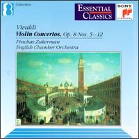 Vivaldi: Violin Concertos, Op. 8 Nos. 5-12 - English Chamber Orchestra (chamber ensemble); Neil Black (oboe); Philip Ledger (harpsichord); Pinchas Zukerman (violin)