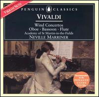 Vivaldi: Wind Concertos - Celia Nicklin (oboe); Christopher Hogwood (continuo); Colin Tilney (organ); Colin Tilney (harpsichord); Iona Brown (violin);...