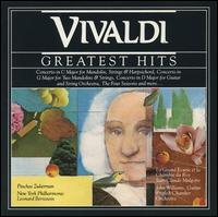 Vivaldi's Greatest Hits - André Saint-Clivier (mandolin); Christian Schneider (mandolin); Colin Tilney (harpsichord); Emerson Buckley (harpsichord); Eugenia Earle (harpsichord); Gabin Lauridon (double bass); Jacques Duhem (violin); Jean-Claude Veilhan (recorder)