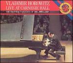 Vladimir Horowitz Live at Carnegie Hall