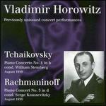 Vladimir Horowitz - Tchaikovsky: Piano Concerto No. 1; Rachmaninoff: Piano Concerto No. 3
