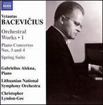 Vytautas Bacevicius: Orchestral Works, Vol. 1