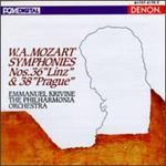 """W.A. Mozart: Symphonies Nos. 36 """"Linz"""" & 38 """"Prague"""""""