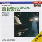 W.A. Mozart: The Complete Sonatas for Piano, Vol. 4